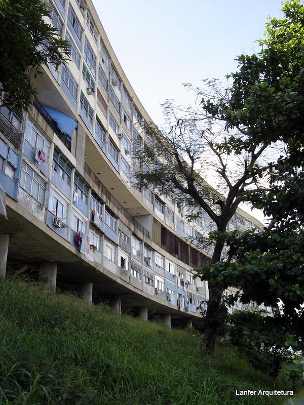 Conjunto Habitacional Pedregulho – Arq. Affonso Eduardo Reidy